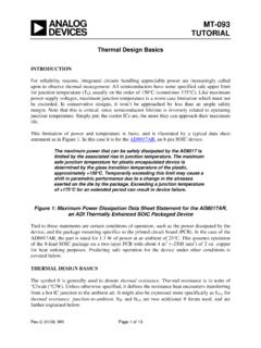 MT-093: Thermal Design Basics