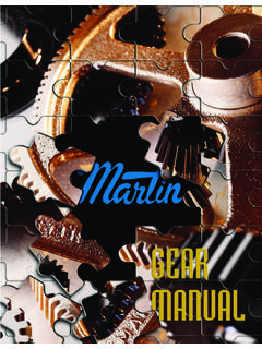 Martin Gear Manual - martinsprocket.com