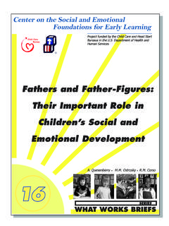 Fathers and Father-Figures: Their Important Role in ...
