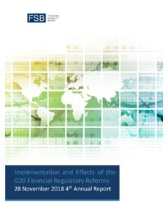 Implementation and Effects of the G20 Financial Regulatory ...