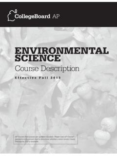 eNvIroNmeNtal scIeNce - College Board