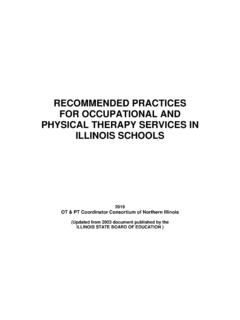 RECOMMENDED PRACTICES FOR OCCUPATIONAL AND …