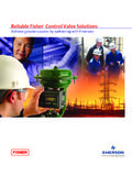 Reliable Fisher Control Valve Solutions - Emerson