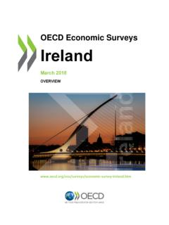 OECD Economic Surveys Ireland 2018