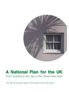 A National Plan for the UK - greennewdealgroup.org