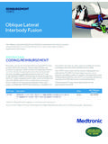 Oblique Lateral Interbody Fusion - Medtronic