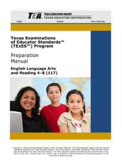 English Language Arts and Reading 4-8 (117) Preparation …