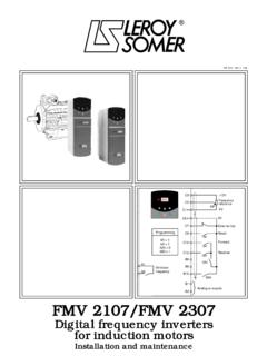 Pages 01 et 03 ‹ 05/GB - Leroy-Somer
