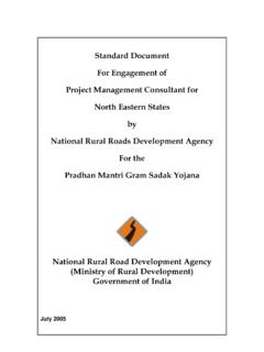 Standard Document For Engagement of Project …