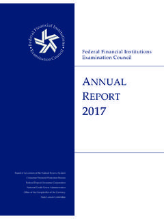 FFIEC Annual Report