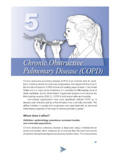 Chronic Obstructive Pulmonary Disease (COPD) - ATS