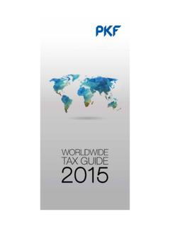 Worldwide Tax Guide 2014 - PKF | Assurance, …