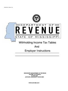 Pub 89-700, WITHHOLDING TAX TABLES