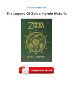 The Legend Of Zelda Hyrule Historia Pdf The Legend Of Zelda Hyrule Historia Pdf Pdf Pdf4pro