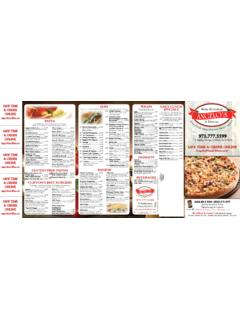 973.777 - Angelo's Pizzeria & Restaurant