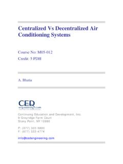 Centralized Vs Decentralized Air Conditioning Systems