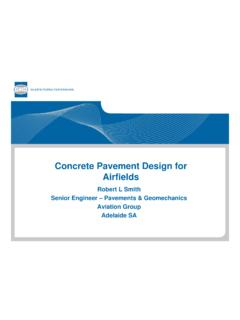 Concrete Pavement Design for Airfields