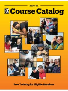 Course Ca talog - 32BJ Funds