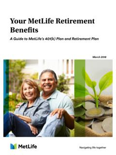 Your MetLife Retirement Benefits - …