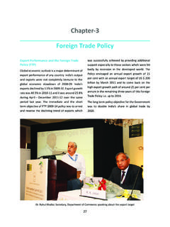 Chapter-3 Foreign Trade Policy