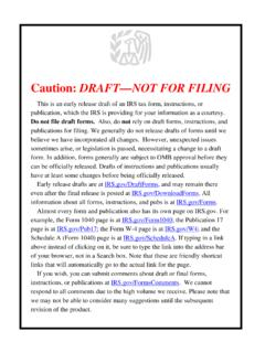 Caution: DRAFT—NOT FOR FILING
