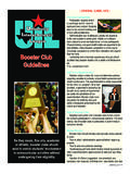 Booster Club Guidelines - University Interscholastic League