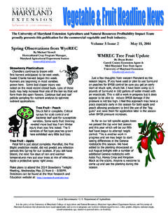 Volume 5 Issue 2 May 15, 2014 Spring Observations …