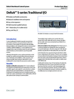 DeltaV Distributed Control Systems Product Data Sheet / deltav