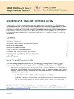 Building and Physical Premises Safety