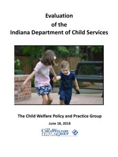 Evaluation of the Indiana Department of Child Services