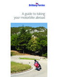A guide to taking your motorbike abroad - Brittany …