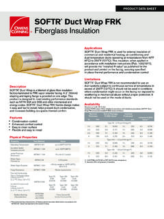 SOFTR Duct Wrap FRK Fiberglass Insulation - …