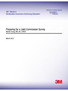 Preparing for a Joint Commission Survey