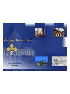 Zoning District Basics - LouisvilleKy.gov