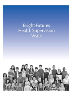 Bright Futures Health Supervision Visits