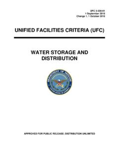 UNIFIED FACILITIES CRITERIA (UFC) - wbdg.org