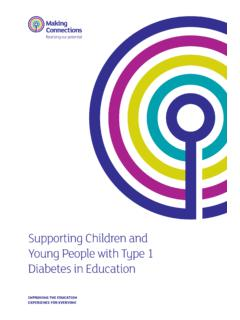 Supporting Children and Young People with Type …