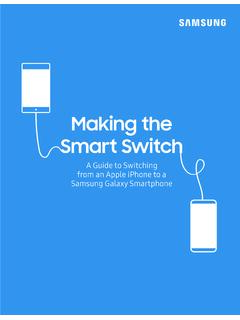 Making the Smart Switch - Samsung Electronics America