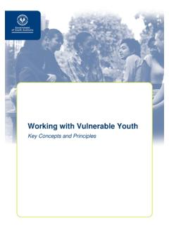 Working with Vulnerable Youth - Office for Youth