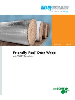 Friendly Feel Duct Wrap - Distribution International