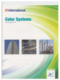 International Paints - Color Systems