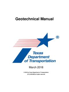 Geotechnical Manual (GEO)