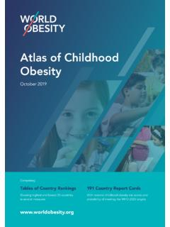 Atlas of Childhood Obesity