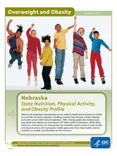 Overweight and Obesity - Centers for Disease Control and ...