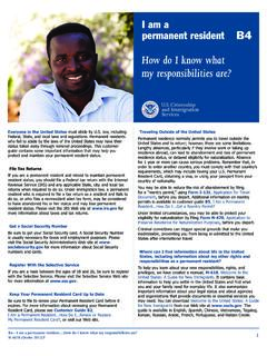 How do I know what my responsibilities are? - USCIS