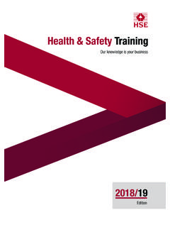 Health & Safety Training