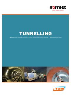 TUNNELLING - Normet