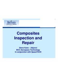 Composites Inspection and Repair - rcptv.com
