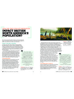 HOW DID THE LOYALIST MIGRATION IMPACT BRITISH …