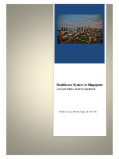 Healthcare System in Singapore